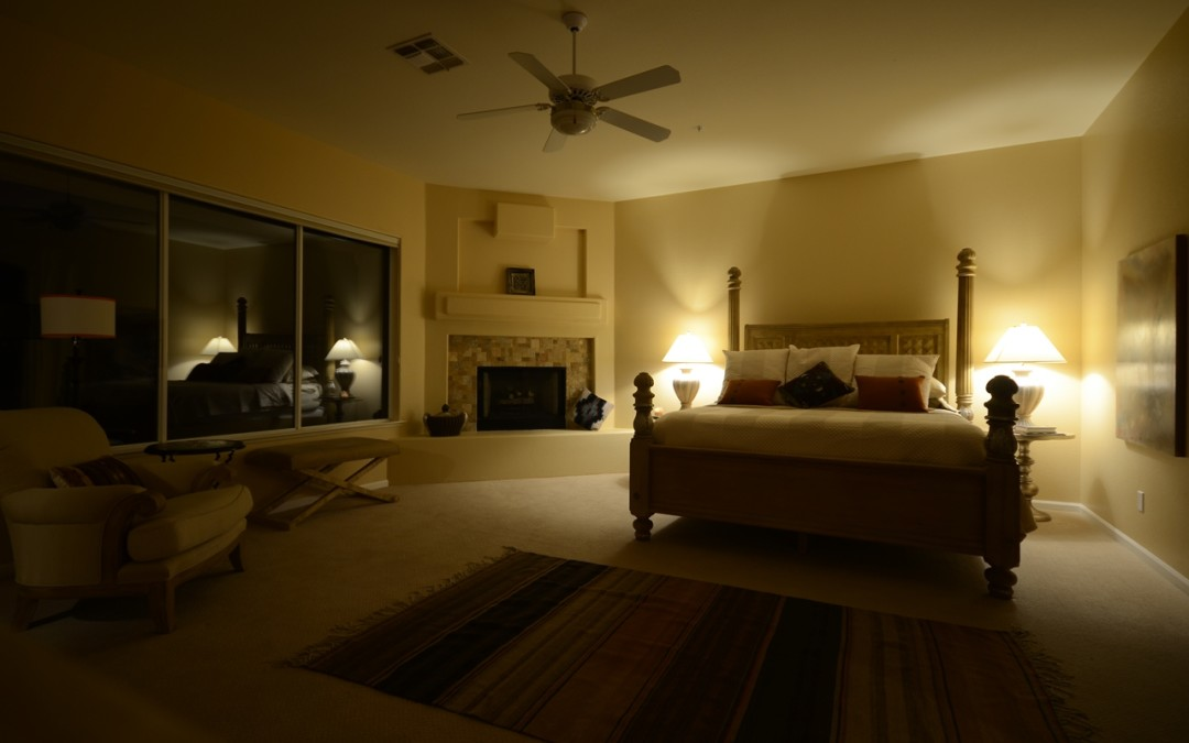 Master Bedroom, time to go to bed